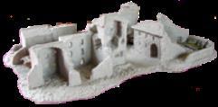 Italian Village Ruins w/Vintner House