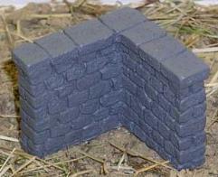 Stone Wall - Corner