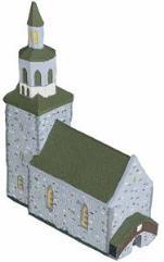 Church w/Steeple