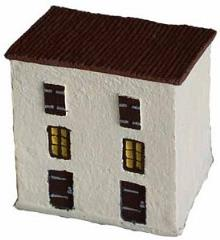 Two-Story Townhouse w/Slant Roof (Drystone)