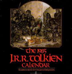 1985 J.R.R. Tolkien Calendar