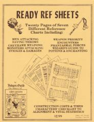 Ready Ref Sheets (2nd Edition, 2nd Printing)