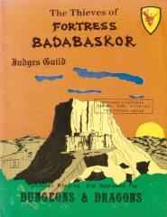 Thieves of Fortress Badabaskor, The (3rd Printing)