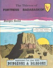 Thieves of Fortress Badabaskor, The (4th Printing)