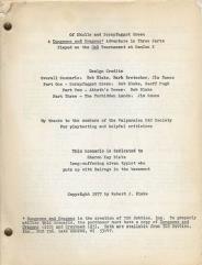 Of Skulls and Scrapfaggot Green (1st Printing)