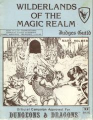 Wilderlands of the Magic Realm (4th Printing/Unknown Printing, No Booty List)