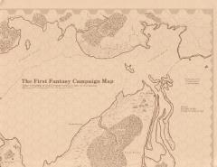 First Fantasy Campaign, The - Judges Map