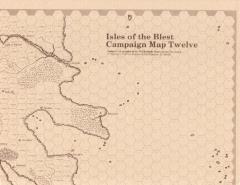 Map 12/13 Isles of the Blest/Ebony Coast (Judges)