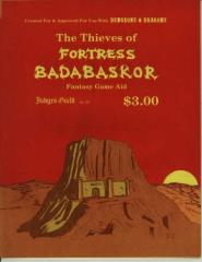 Thieves of Fortress Badabaskor, The (1st Printing)