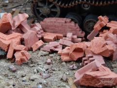 Brick Rubble - Red Mix