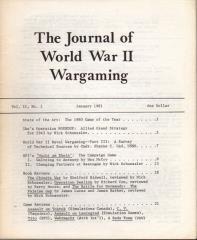 """Vol. 2, #1 """"Wacht am Rhein, Naval Wargaming"""""""