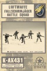 Luftwaffe Fallschirmjager Battle Squad