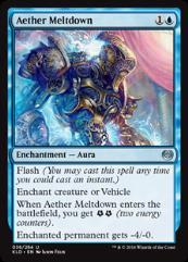 Aether Meltdown (U) (Foil)