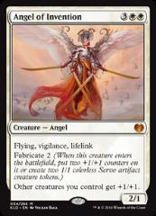 Angel of Invention (MR) (Foil)