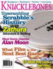 "#1 ""Scrabble's History, Zathura, Alan Moon"""