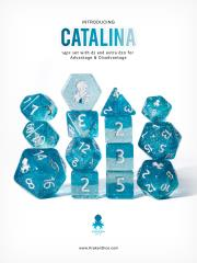 Poly Set - Catalina w/Silver (12)