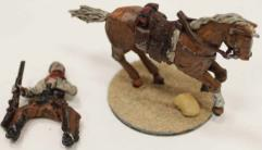Mounted Cowboy w/Shotgun