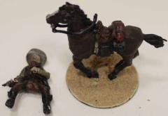 Mounted Outlaw w/Pistol