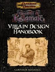Villain Design Handbook (v3.5)