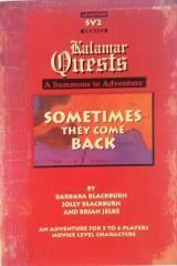 Kalamar Quests - Sometimes They Come Back