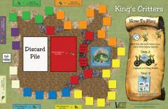 King's Critters Mounted Map