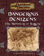 Dangerous Denizens - The Monsters of Tellene