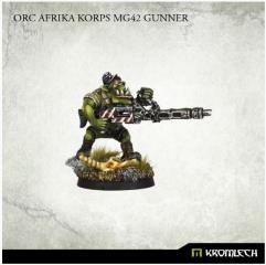 Afrika Corps MG42 Gunner