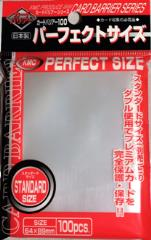 Standard Sized - Perfect Sleeves, Clear (100)