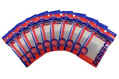 Mini Sized - Perfect Sleeves, Clear (10 Packs of 100)