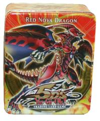 5D's - 2010 Collectible Tin Wave #2, Red Nova Dragon