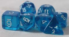 Poly Set Blue w/White (7)