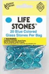 Blue Glass Stones