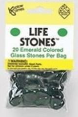 Emerald Glass Stones