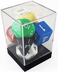 Poly Set Assortment w/Cube (7)