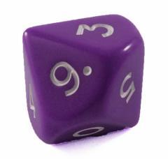 Jumbo d10 - Purple