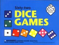Sixty-Two Dice Games w/Book & Dice