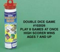 Mini Double Dice Game
