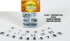 Overhead Tiles - Assorted Numbers, Operations & Dice