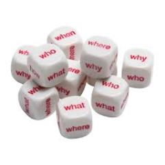 d6 Interrogative Dice (10)