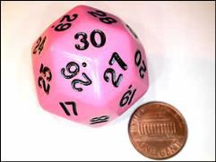 d30 Pink w/Black