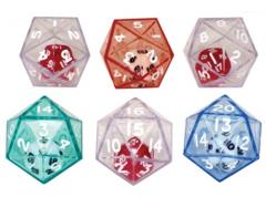 d20 Double Dice - Assorted (6)