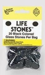 Black Glass Stones