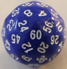 d60 - Blue w/White