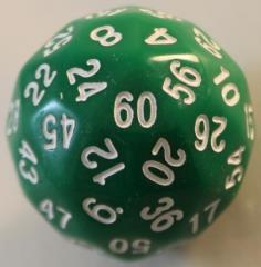d60 - Green w/White