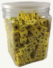 Math Dice w/Pips, Numbers, and Operators (200)