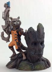 Groot & Rocket Raccoon ArtFX+ Statue