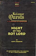 Kalamar Quests - Night of the Rot Lord