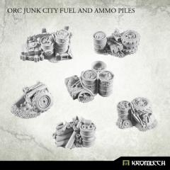 Junk City Fuel and Ammo Piles