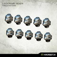 Legionary Heads - Raven Pattern