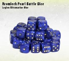d6 Legion Ultramarine Blue w/Gold (35)